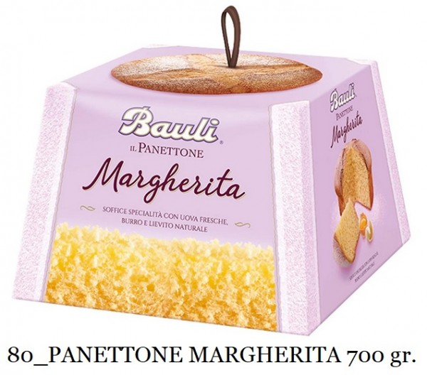 PANETTONE MARGHERITA BAULI 700 GR.