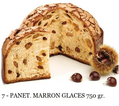 PANETTONE MARRON GLACÉ 750 GR. ELEGANCE