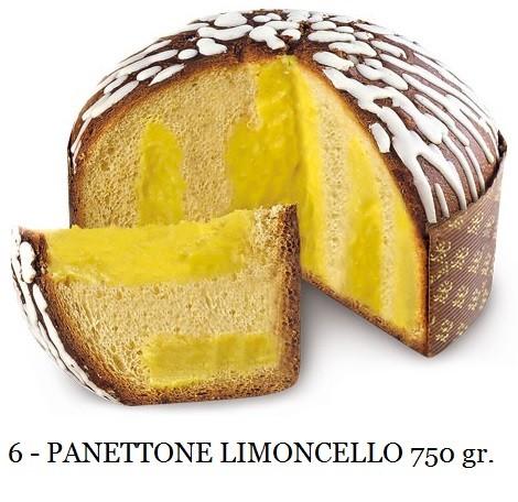 PANETTONE ALLA CREMA LIMONCELLO 750 GR. ELEGANCE