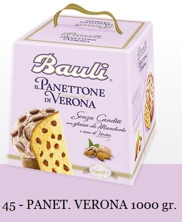 PANETTONE DI VERONA BAULI 1000 GR.