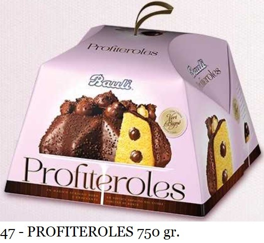 PROFITEROLES BAULI 750 GR.